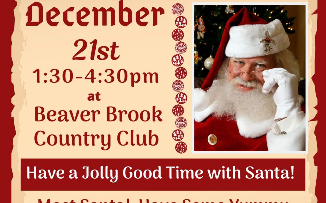 Holiday event with Santa